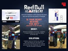 Red Bull heART beat.