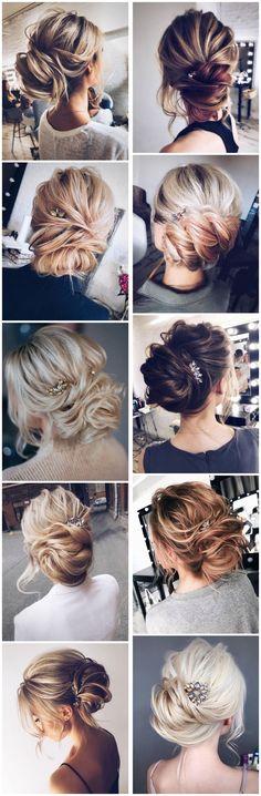 Tonyastylist Wedding Updo Hairstyles for Bride #weddings #updos #wedidngideas #weddinghairstyles