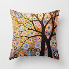 Cool site with lots of throw pillows tees and more