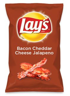 Wouldn't Bacon Cheddar Cheese Jalapeno be yummy as a chip? Lay's Do Us A Flavor is back, and the search is on for the yummiest flavor idea. Create a flavor, choose a chip and you could win $1 million! https://www.dousaflavor.com See Rules.
