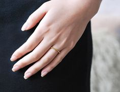Mirlo Ditched Honeycomb Ring
