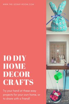 DIY Home decor proje