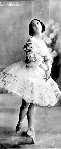 Great Russian ballerina Anna Pavlova