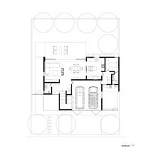 Image 15 of 16 from gallery of OVal House / Elías Rizo Arquitectos. Floor Plan