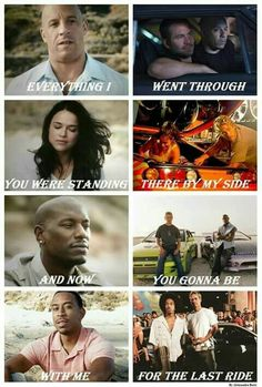 I totally agree with Vin Diesel on this . & where you walk out of& Vin Diesel, Fast And Furious Cast, The Furious, Fast And Furious Memes, Paul Walker Quotes, Rip Paul Walker, Michelle Rodriguez, Movies Showing, Movies And Tv Shows