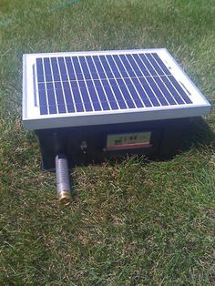 Solar Powered Water Pump System for Irrigation