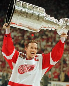 I WANT to hoist the Stanley Cup above my head one day!