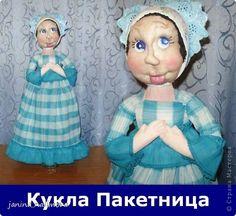 Куклы Мастер-класс МК Кукла пакетница Бутылки пластиковые Ткань фото 1