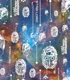 Marvel Comics& Guardians Of The Galaxy Cotton Fabric - Glow Online Craft Store, Craft Stores, Fabric Crafts, Sewing Crafts, Marvel Fabric, Star Wars Fabric, Star Lord, Joann Fabrics, Guardians Of The Galaxy