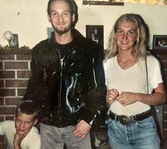 Layne Staley with his sister Liz