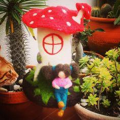 Casa cogumelo da Mel
