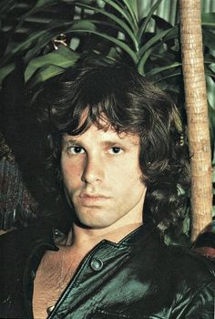 "Jim Morrison: Undoubtedly this shot inspired Warren Beatty's hairdresser character in ""Shampoo."" Jim didn't even have to try."