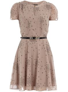 Another Laura-esque dress  (Katie-remember Dorothy Perkins--I got my grey shoes there while in Marlborough, England with Jackie).  You ate that yucky onion at lunch that day.