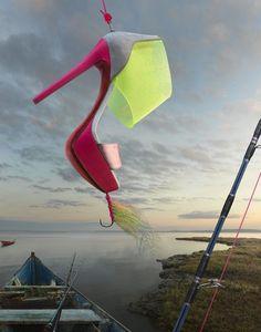 La pêche aux souliers de Christian Louboutin http://www.vogue.fr/mode/news-mode/diaporama/la-collection-printemps-ete-2013-de-christian-louboutin/11587#5