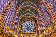 "500px / Photo ""Stained glass church"" by Stéphanie Benjamin"