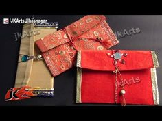 HOW TO: DIY Shagun envelope for gifting in wedding, trousseau and baby shower - JK Arts 440 - YouTube