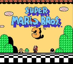 Super Mario Bros 3 Was Nintendo Best Mario Game On the NES I Sure think so i beat it years ago it was hard & Long game Music by AsteriXXX-Super Mario Bros' [. Super Mario Bros, Super Mario Brothers, Mario Bros 3, Play Super Mario, Mario And Luigi, Super Nintendo, Nintendo Games, Donkey Kong, Mario Kart