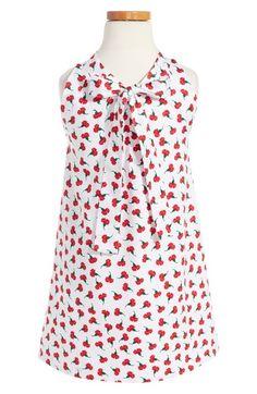 Main Image - Oscar de la Renta Carnation Bud Sleeveless Dress (Toddler Girls, Little Girls & Big Girls)