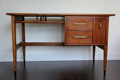 Mid Century Modern Lane Desk Acclaim Series by by bijouliving, $650.00