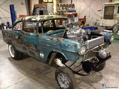 The Mans Zone Cool Cars (Search results for: 55 chevy gasser) 1955 Chevy, 1955 Chevrolet, Chevrolet Parts, Chevrolet Trucks, Chevrolet Impala, Vintage Racing, Vintage Cars, Antique Cars, Old Race Cars
