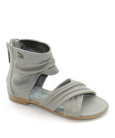 Take a look at this Taupe Strappy Gladiator Sandal  by Xti Kids on #zulily today!