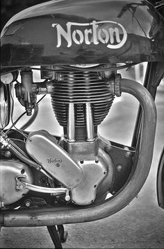 motobilia: Norton ES 2 by -bluenote74- #flickstackr Flickr: http://flic.kr/p/aQhaqt