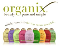 I LOVE LOVE LOVE Organix hair products! I love the Coconut Milk (it saved my hair), Vanilla Silk, and the Keratin oil shampoo/conditioners. Organix Shampoo, Sulfate Free Shampoo, Natural Hair Tips, Natural Hair Styles, Natural Things, Going Natural, Good Shampoo And Conditioner, Best Shampoos, White Hair