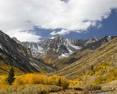 McGee Creek Pictures: Driving Tour: End of the Road, John Muir Wilderness, Mt. Baldwin in the background
