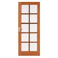 Bathroom Doors Bunnings door internal 1 lite 2040x820x35 clr safety glass - bunnings