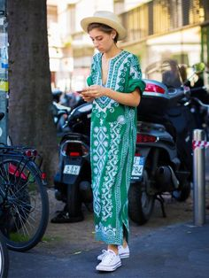Summer Outfit Ideas: 17 Sartorial Moves Cool Girls Are Making via @WhoWhatWearUK