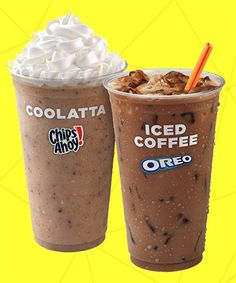 Dunkin's Latest Is Almost Too Yummy To Be True #refinery29  http://www.refinery29.com/2015/05/88281/new-dunkin-donuts-coffee-drinks-oreo-chips-ahoy