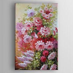 現代アートなモダン キャンバスアート 絵 壁 壁掛け 油絵の特大抽象画1枚で1セット ピンク 花瓶 花 植物 かわいい【納期】お取り寄せ2~3週間前後で発送予定【送料無料】ポイント