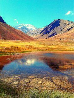 Lago Espejo. Mendoza
