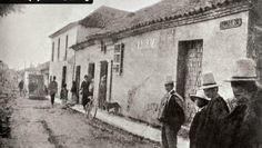1888, Casa del Camellón de las Nieves cerca de la calle 20 - Bogotá, Colombia Japan Spring, My Heritage, Spring Time, Filmmaking, Street View, Antiques, Roots, Composition, Photography