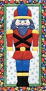 the nutcracker no sew wall hanging kit
