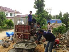 รับเหมาก่อสร้าง ต่อเติม รับสร้างบ้าน Front Service ช่วยท่านได้: งานรับสรา้งบ้านปรับปรุงด้านหน้าอาคาร โรงแรม