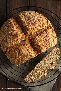 Irish soda bread - Irlandzki chleb na sodzie