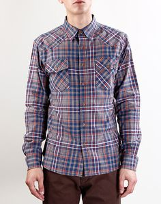 The Critical Slide Society Kerouac Plaid Shirt