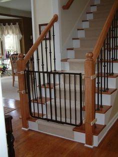 Cardinal Gates Stairway Special Safety Gate Black