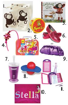 Great ideas for Little Girls Birthday Gifts (5-7 years old)  Most under $20!