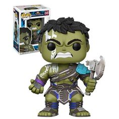 Funko POP! Marvel Thor 3 Ragnarok #249 - Hulk (With Axe) - New, Mint Condition. #FunkoPop #Marvel #Collectibles