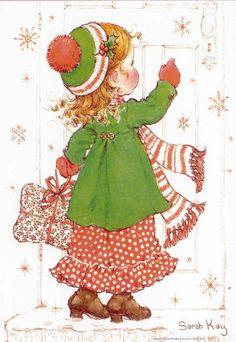 Visita en navidad | Sarah Kay