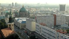 Berlin From Above (Tallest Building's View) - In A Berlin Minute (Week 135) [HD] by Luci Westphal. Berlin seen from the tallest building, the Park Inn Hotel (not the tallest structure, which would be the TV Tower).