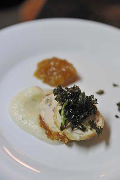Fried Chicken Galantine & Crispy Kale