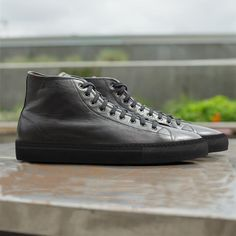 BlackXBlack High Top Sneakers