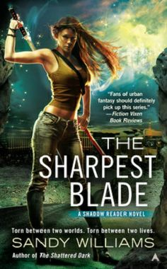 #NewRelease ♥ The Sharpest Blade by Sandy Williams ♥ Ace | 12/31/2013 | #UF | McKenzie Lewis's ability to read the shadows has put her—and those she loves—in harm's way again and again. The violence must end, but will the cost of peace be more devastating than anyone ever imagined? | http://www.amazon.com/gp/product/0425265889/ref=as_li_ss_tl?ie=UTF8&camp=1789&creative=390957&creativeASIN=0425265889&linkCode=as2&tag=dragpin-20