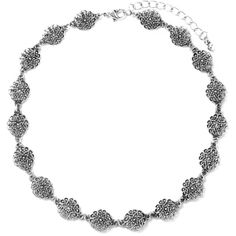 Filigree Flower Choker (4.17 CAD) ❤ liked on Polyvore featuring jewelry, necklaces, flower choker, flower jewelry, flower necklace, blossom jewelry and flower jewellery