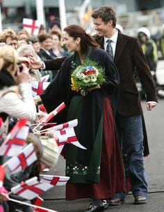 Kobberbryllup I 2005 besøgte Kronprinsparret Færøerne.