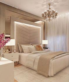 Modern Luxury Bedroom, Master Bedroom Interior, Room Design Bedroom, Luxury Bedroom Design, Bedroom Furniture Design, Home Room Design, Luxurious Bedrooms, Corner Sofa Design, Led