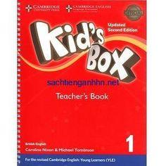 Cambridge Kid's Box 1 Teacher's Resource Book ( Second Edition) – Sách gáy xoắn, 70000 Teacher Books, Teacher Resources, English Activities, Book Activities, Cambridge English, Kids Boxing, Primary School, Learn English, Phonics